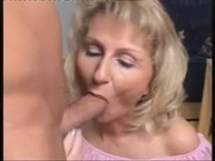 Mature Wife loves cum on face