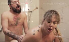 TEASER | Sexo quente no chuveiro com esposa coroa loira rabuda | Alessandra Maia e Mario Aquele (COMPLETO NO RED)